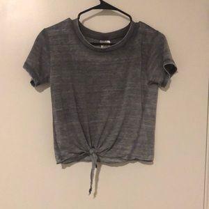 Grey Short sleeve
